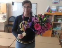 Поздравляем нашего воспитателя с победой
